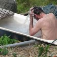 Off grid bath