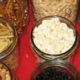 Glass jars food storage
