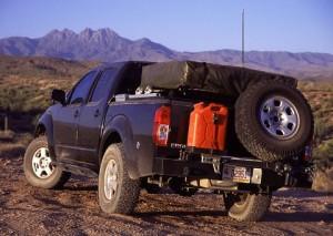 frontier truck