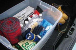 Emergency Vehicle Supplies Kit