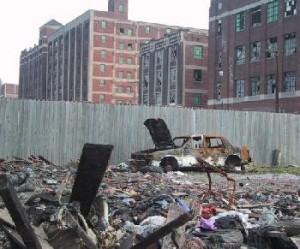 urban wasteland