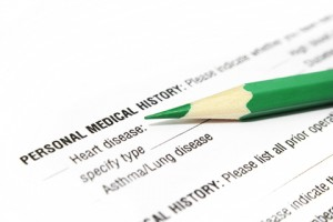 personal medical history form