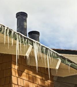 frozen rooftop