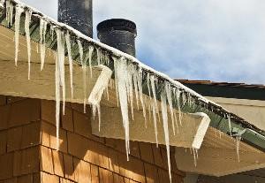 frozen roof