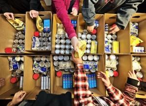 managing food boxes