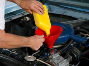 car oil refill