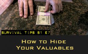 hiding valuables