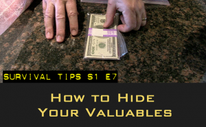 hiding valuables