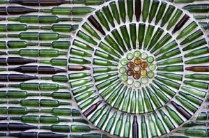 bottle-wall