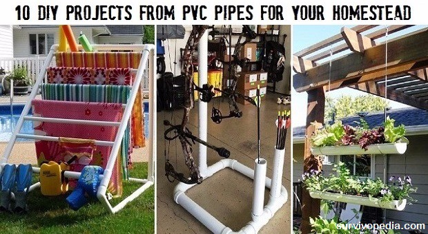 Survivopedia PVC DIY projects
