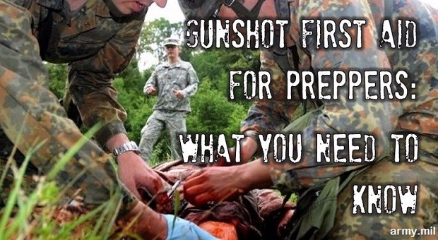 treating gunshot wound