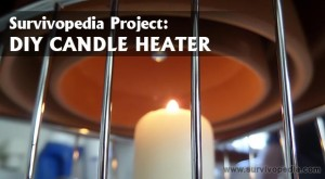 DIY For Cooking Off-Grid: The Candle Heater