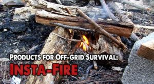 Products for Off-grid Survival: Insta-Fire