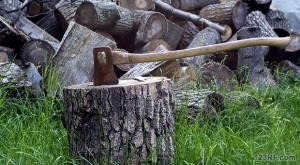 Off-Grid Survival: How To Cut And Split Wood