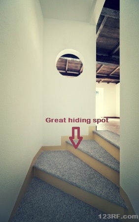 Survivopedia Staircase Hiding DIY