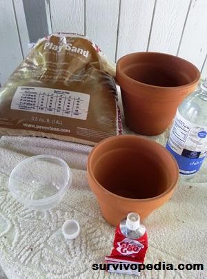 parts for pot-in-pot cooler