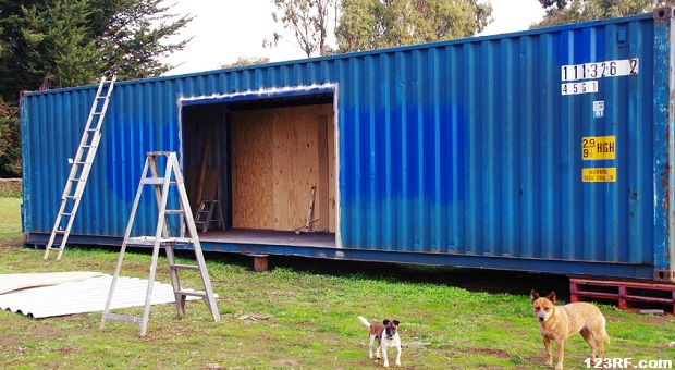 Survivopedia Container House