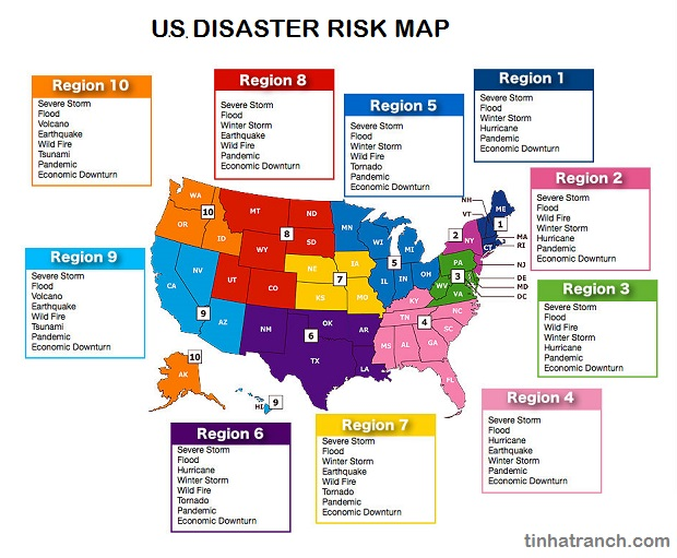 US-Disaster-Risk-Map
