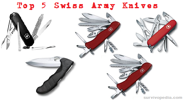 Survivopedia Top Swiss army Knives
