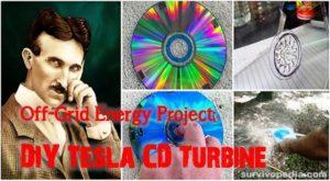 Off-Grid Energy Project: DIY Tesla CD Turbine