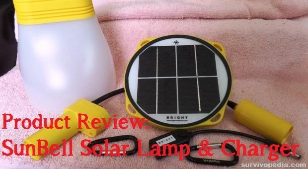 SunBell Solar Lamp Review