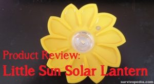 Product Review: Little Sun Solar Lantern