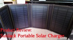 Product Review: 14 Watt SunJack Portable Solar Charger