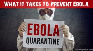 What It Takes To Prevent Ebola