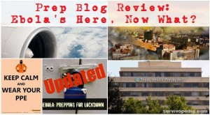 Prep Blog Review: Ebola's Here, Now What?