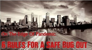 On The Edge Of Pandemic: 6 Rules For A Safe Bug Out