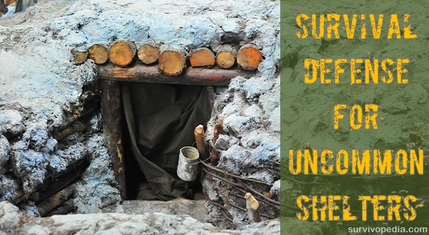 how to build a waterproof shelter in the woods