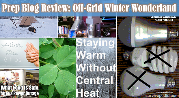 Collage of 7 off grid topics photos