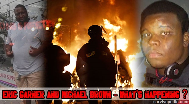 Eri Garner, Michael Brown and Ferguson street violence