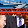 Russian aviation patrol Obama and Putin