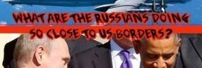 Russian aviation patrol Obama and Putin