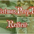 Xmas Prep BLog Review