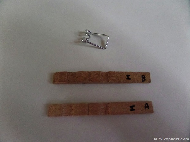 Remove spring from clothespin