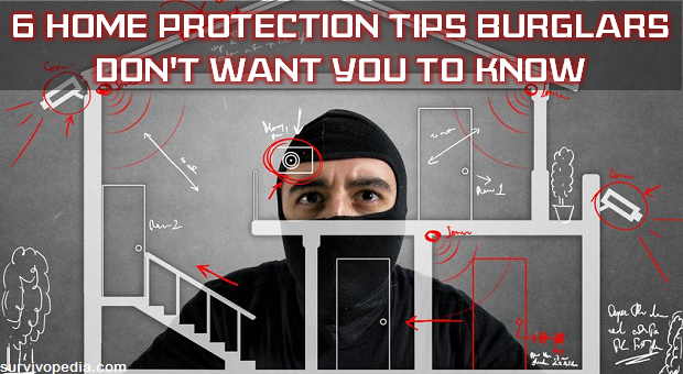 Safety Tips from Burglars