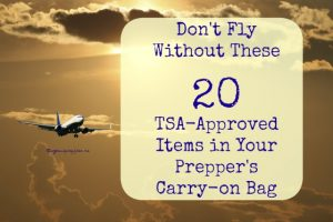 Don't Fly Without These 20 TSA-Approved Items
