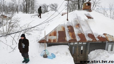 winter in Romania