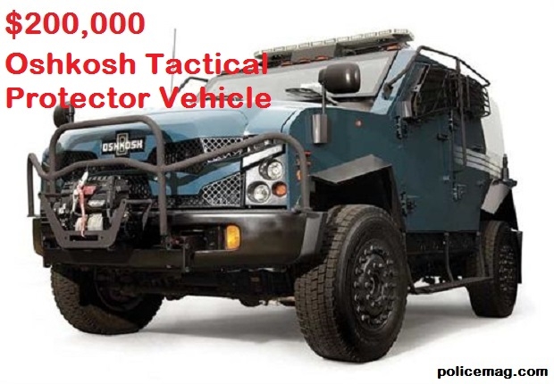 Oshkosh Tactical Protector Vehicle