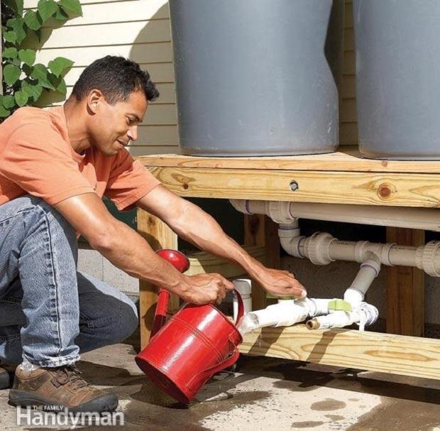 DIY Rain Barrel