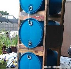 Triple Barrel rain system