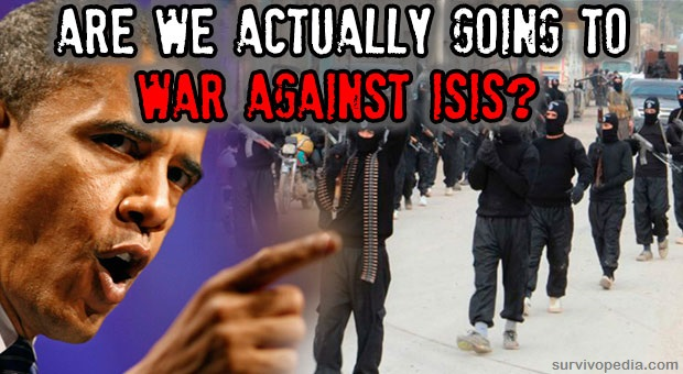 Obama sent a war authorization request against ISIS