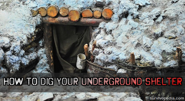 How To Dig Your Underground Shelter Survivopedia