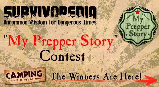 My Prepper Story Contest Winners