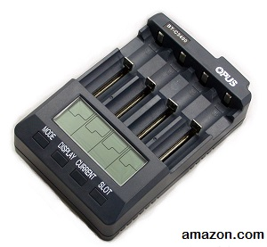 Universal Battery Charger Analyzer Tester for Li-ion NiMH NiCd rechargeable batteries