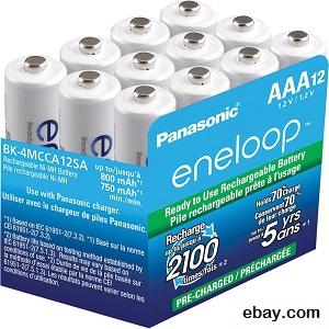 Panasonic eneloop batteries