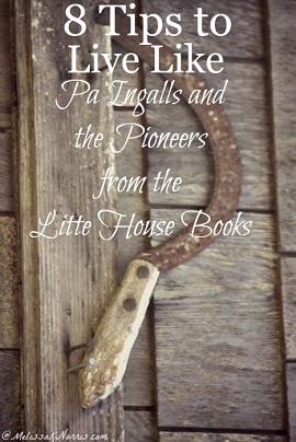 live like the pioneers