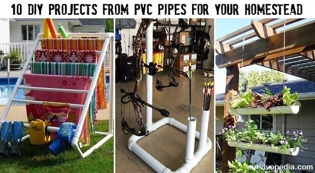 10 diy projects from pvc pipes for your homestead survivopedia solutioingenieria Images